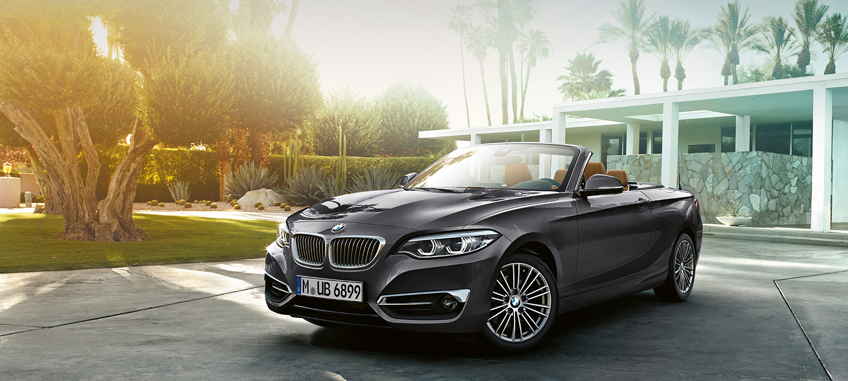 BMW 2 Series Convertible, three-quarter front shot