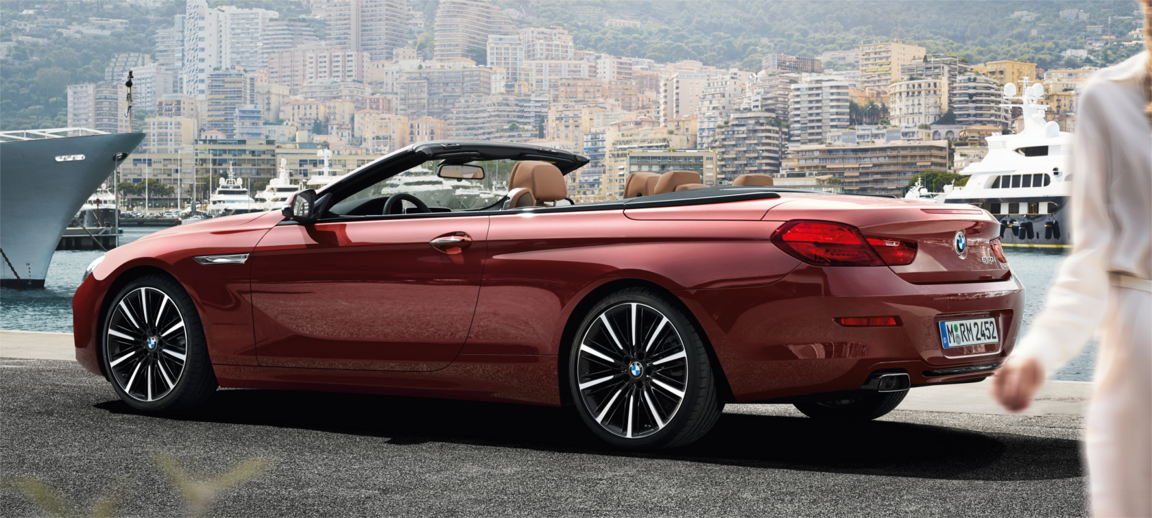 The BMW 6 Series Convertible