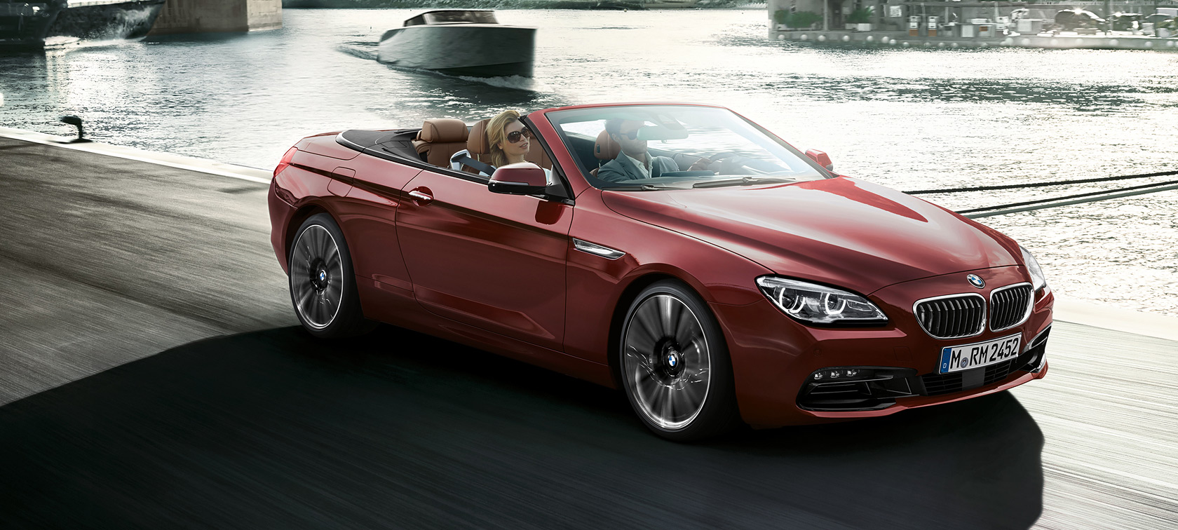 The design of the BMW 6 Series Convertible
