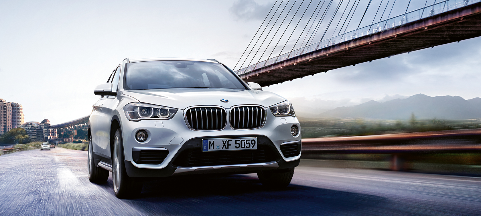 Driving Dynamics & Efficiency of the BMW X1